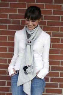 LOVE this UGA gameday scarf!