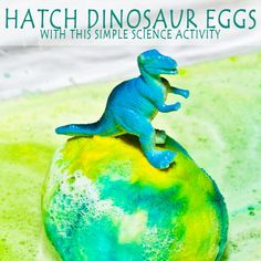 Hatch baking soda dinosaur eggs with science in this fun activity that will capture the imagination of all ages! Simple chemistry learning.