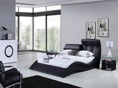 ultra modern bedroom furniture. Plain Bedroom Sleek Ultramodern Design Genuine Leather Upholstery And Dual Adjustable  Headboard Create The With Ultra Modern Bedroom Furniture A