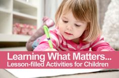 Your #kids will grow with the lessons learned in these fun #activities.