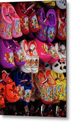 Display with Colorful Dutch Wooden Shoes Wood Print by Jenny Rainbow. All wood prints are professionally printed, packaged, and shipped within 3 - 4 business days and delivered ready-to-hang on your wall. Choose from multiple sizes and mounting options. Art Prints For Home, Home Art, Fine Art Prints, Framed Prints, Dutch Wooden Shoes, Rainbow Wood, Flower Market, Shabby Chic Style, Got Print