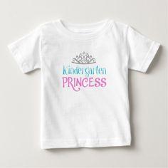 Kindergarten Princess T Shirt, Hoodie Sweatshirt