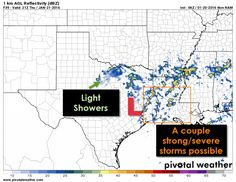 Here are the forecast highlights in the January 20th Texas Weather Roundup. As always you can get the complete forecast on our website at texasstormchasers.com -David  → Very strong northwest winds expected tonight in the Panhandle along with the threat of snow showers.  → Conditional threat for a few severe storms in Southeast Texas from 11 AM Thursday through 5 PM Thursday. Showers and isolated storms in North Texas, Northeast Texas, and East Texas.  → Cold front