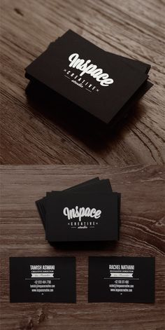 ///Inspace cards #branding #design