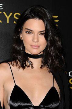 Kendall Jenner lob haircut.