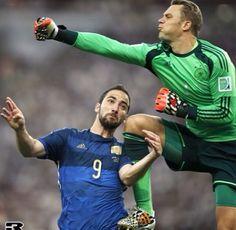 Manuel Neuer, Germany (FC Schalke 04, Bayern München, Germany) #soccer #goalkeeper #greatsave #goalkeepingismylife