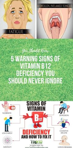 5 Warning Signs of Vitamin Deficiency You Should Never Ignore - Informationen zu 5 Warning Signs of Vitamin Deficiency You Should Never Ignore Pin Sie können - Health And Wellness Coach, Wellness Fitness, Health Fitness, Fitness Tips, Vitamin B12, Health And Beauty Tips, Health Tips, Health Facts, Health Care