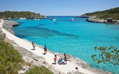 Cala Mondragó, Mallorca one of our favorites and very close to our hotels. Try…