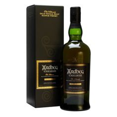 Ardbeg Uigeadail : Buy Online - The Whisky Exchange - A fine drop of Ardbeg bottled at cask strength. A marriage of Ardbeg from bourbon barrel and sherry butt which gives a sweet and smokey finish to this malt. Uigeadail is the loch from which all Ard. Bourbon Whiskey, Scotch Whisky, Good Whiskey, Bourbon Barrel, Ardbeg Whisky, Whisky Single Malt, Wine And Spirits, Distillery, Tequila