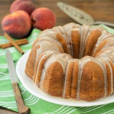 Peach E Bundt Cake For Bundtamonth
