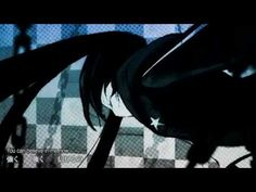 """Black★Rock Shooter (feat.Hatsune Miku) - ryo - Definately one of the songs that a Vocaloid fan should know, and one of the most popular. Popular enough to gain its own anime and video game adaptations. The character in the video is not Miku, even though it is her voice. This character is the Black★Rock Shooter, designed by huke. I really enjoy the """"gritty"""" or """"grainy"""" look of the textures and overall art of the video, it does have a unique quality."""