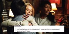 The 100 and Tumblr Text Posts || Clarke Griffin, Monty Green || Family, Home || tumblr - bellblake || Eliza Jane Taylor and Christopher Larkin