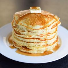 The Secret to Perfect Buttermilk Pancakes from Scratch - Fox Valley Foodie