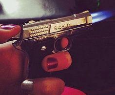 9mm Gun Torch Lighter