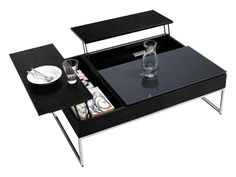 Modern Coffee Tables - Contemporary Coffee Tables - BoConcept Liking this multi-functional coffee table with hidden storage.