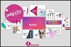 Brended Powerpoint Template by Slientslide on @creativemarket