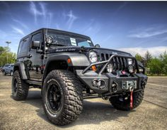 I want this bumper for my Jeep  Jeep by Michael Clusiau, via 500px