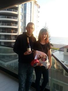 Kathy and Luke, WOW Winners!