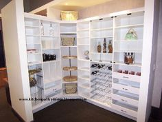 Kitchen Pantry Design,Kitchen Pantry Ideas: Pantry shelving design