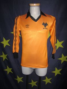 Wolves Umbro shirt As worn by Geoff Palmer Football Kits, Football Soccer, Brad Park, Phil Esposito, Ray Bourque, Milan Lucic, Patrice Bergeron, Bobby Orr, Wolverhampton