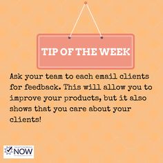 Improve your accountancy practice by a little bit each week. Get your team involved to email clients for feedback.