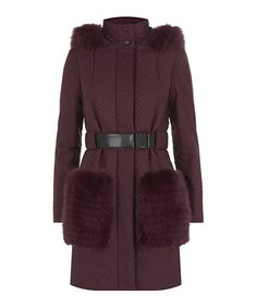 Fendi fur-trim ski parka, price upon request harrods.com - Photo: Courtesy of harrods.com