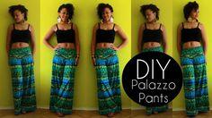 DIY Summer Clothes | DIY Palazzo Pants