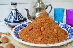 Sfouf (sellou) - marokański mix energetyczny z migdałami