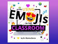 We've teamed up once again with Dr. Monica Burns to bring you an essential resource for your classroom. This new ebook, Using Emojis in the Classroom is packed with fun ideas that you probably hadn't thought of before! Creation Activities, Science Activities, Book Creator, Math Words, Math Word Problems, Social Emotional Learning, Math Classroom, Teacher Resources, Fun Ideas
