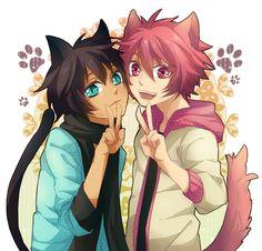 Prince Cecil and Ittoki - Uta no Prince Sama