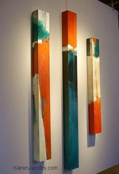 pylons - KAREN JACOBS contemporary and abstract painting Contemporary Abstract Art, Modern Art, Contemporary Artists, Contemporary Design, Pintura Graffiti, Hanging Art, American Art, Painting Inspiration, Design Inspiration