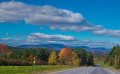 Best known for its fall foliage and delicious ice cream, Vermont's lush Green Mountains are also a great place for a drive, thanks to winding country roads like Route 100.