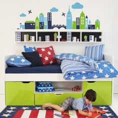 Space Saver Beds For Kids space saving cabin beds for boys & girls | aspace | boys bedroom