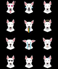Bull Terrier Emoji by bullterrier
