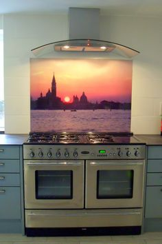 My Builder, Glass Splashbacks, Color Splash, Clear Glass, Compliments, Cooker, Kitchen Ideas, How To Apply, Image
