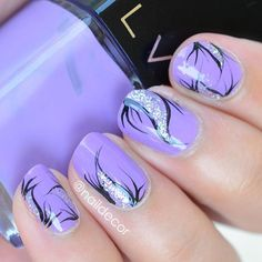 Love this shade of purple by @shoplvx- Legendairepurple_heart painted some abstract... Stuff. Lol. Hope you're having a wonderful start to your week! two_hearts