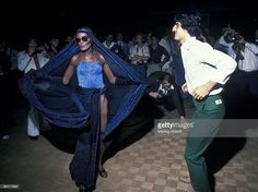 Performer Grace Jones at the disco club Studio 54 in New York City in 1978. (Photo by Waring Abbott/Getty Images)