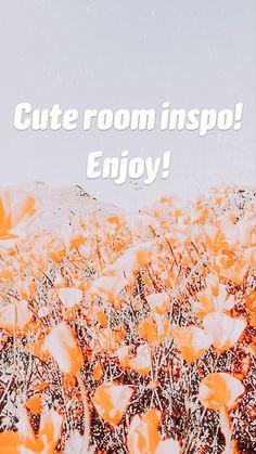Cute room inspo! Enjoy!