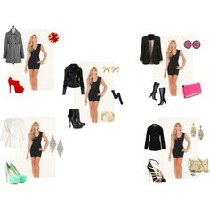"""One Dress, Five Looks"" by fashngirl66 on Polyvore"