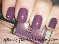sparkly paints.: Pure Ice Purple Reign