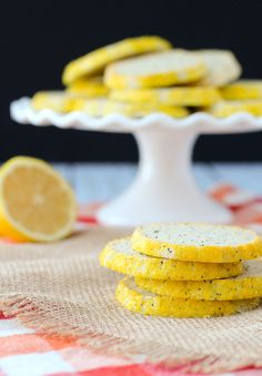 These lemon poppy seed cookies will be a dose of extra sunny cheerfulness on your cookie platters. They're easy to make and the cream cheese adds an amazing depth to the flavor.