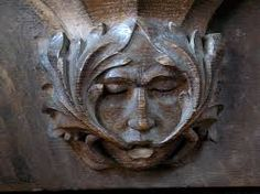 Image result for green man carvings