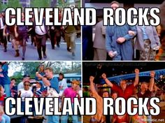 People in Cleveland tonight be like
