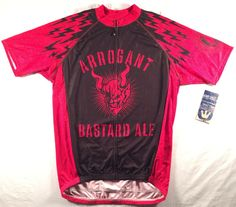 Canari Stone Brewing Company Arrogant Bastard Bolts Cycling Jersey Craft  Beer  Canari Liquid Gold 2c2ee71f8