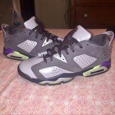 """7eaf318ccedcaa Air Jordan 6 Low """"Ultraviolet"""" 7.5y"""