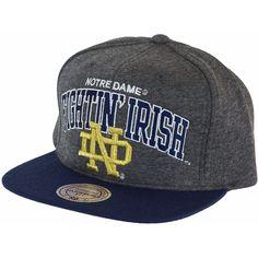Mitchell & Ness Jersey Arch Snapback Cap Notre Dame Fighting Irish ★★★★★