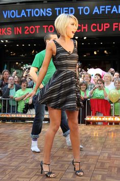 "Chelsea Kane Photo - Cast Of ""Dancing With The Stars"" Visits ABC's ""Good Morning America"""