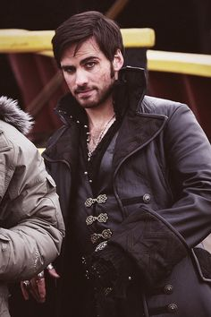 """Killian Jones/Colin O'Donoghue being adorable as usual #OUAT (Promo pic for 2x13 """"Tiny"""")"""