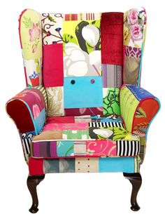Patchwork Chair by Kelly Swallow