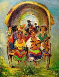 Грузинский художник Lado Tevdoradze.